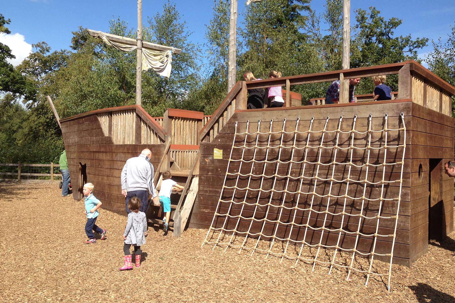 Outdoor Play at Alice Holt