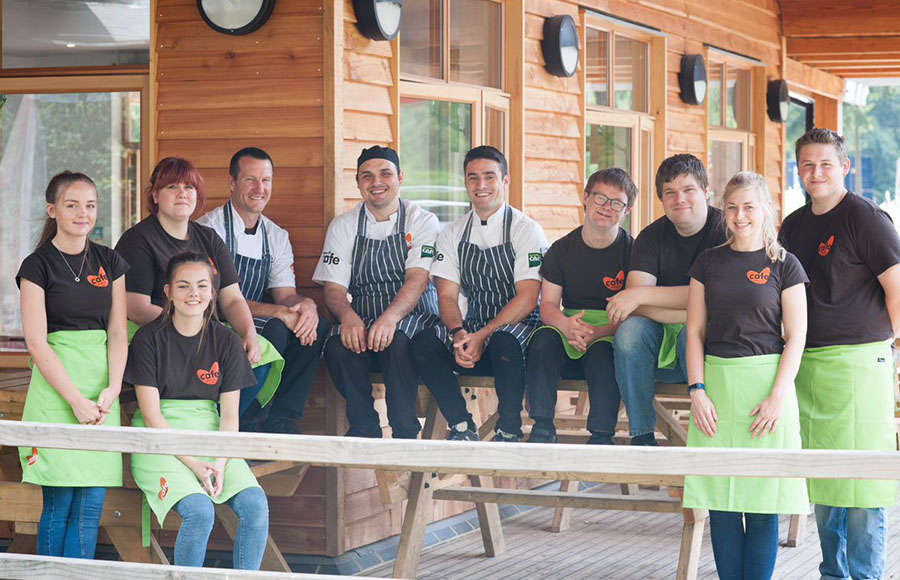 Alice Holt Cafe Team Photo